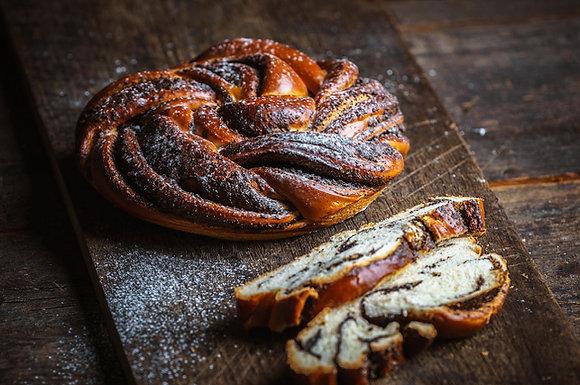 Karaway Sweet Poppy Seed Brioche Loaf