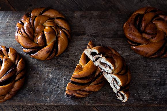 Karaway Chocolate Swirl Pastry