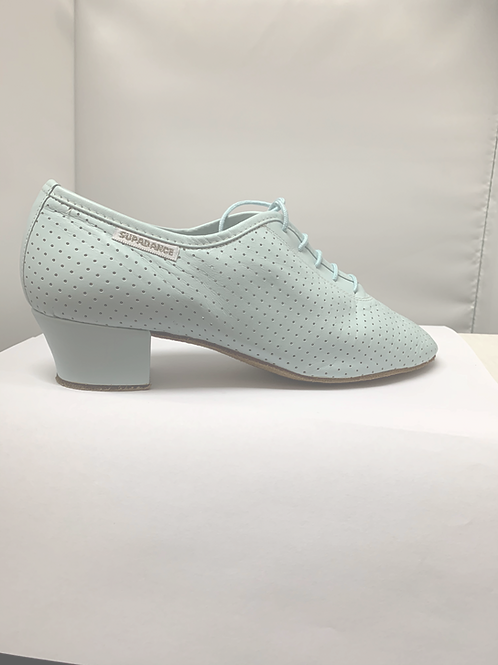 Supadance 1026 light blue leather practise shoe