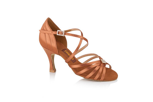 Freed of London Lois competition dark tan  dance shoe