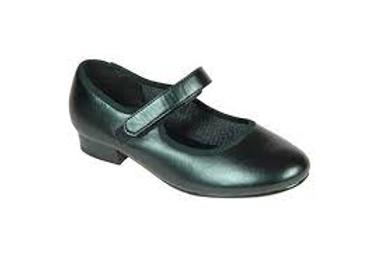 T & P PU Tap  shoe no laces hook & loop fastening