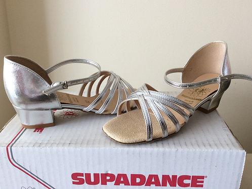 Supadance girls ballroom dance shoe SIZE 10, 10.5