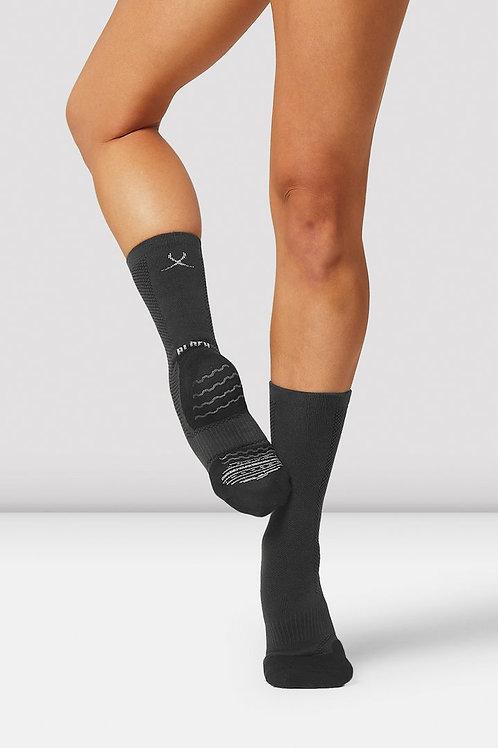 Bloch dance socks with built in spin spot