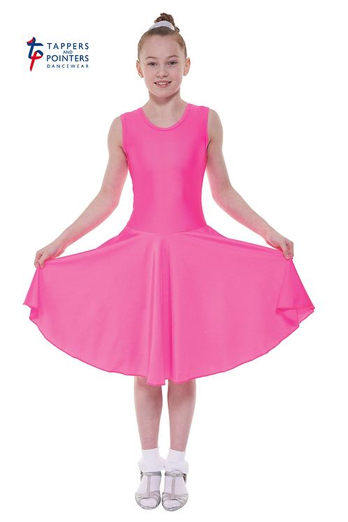 T & P B2 Girls sleeveless ballroom dress