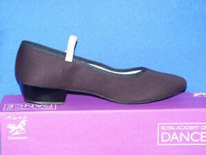 Katz low heel RAD syllabus dance shoe canvas upper leather sole