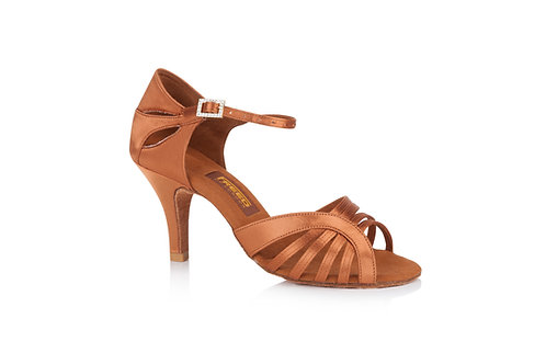 "Freed Gabriella competition dance shoe dark tan 3"" heel"