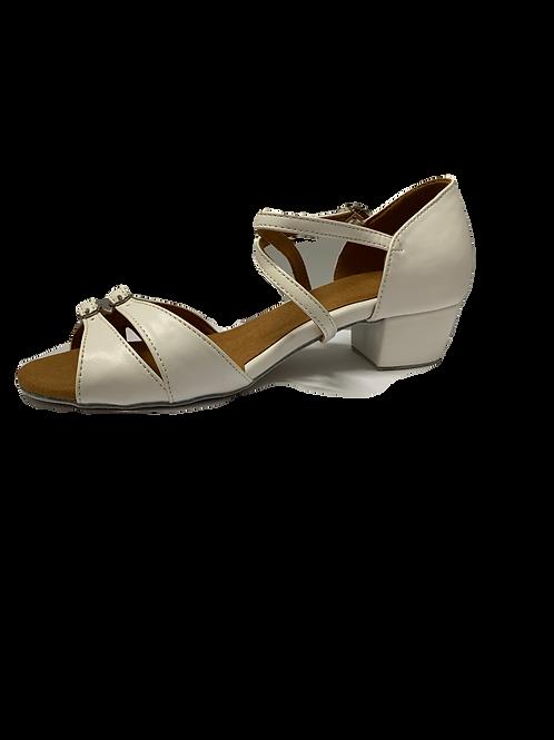 Supadance childs ballroom shoe adjustable width size 5