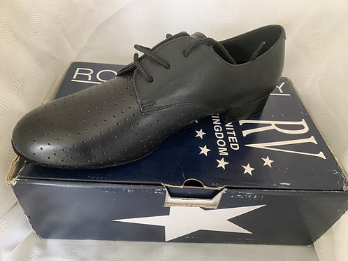 RV mans perforated leather ballroom shoe 9.5