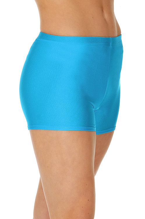 RV Hot shorts nylon lycra micro shorts.