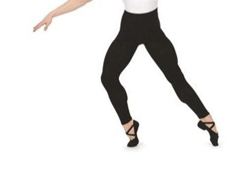 RV mens cotton/lycra footless tights black