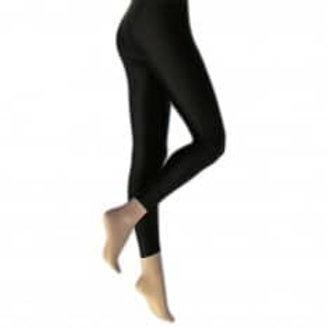 Silky Shimmer look leggings black