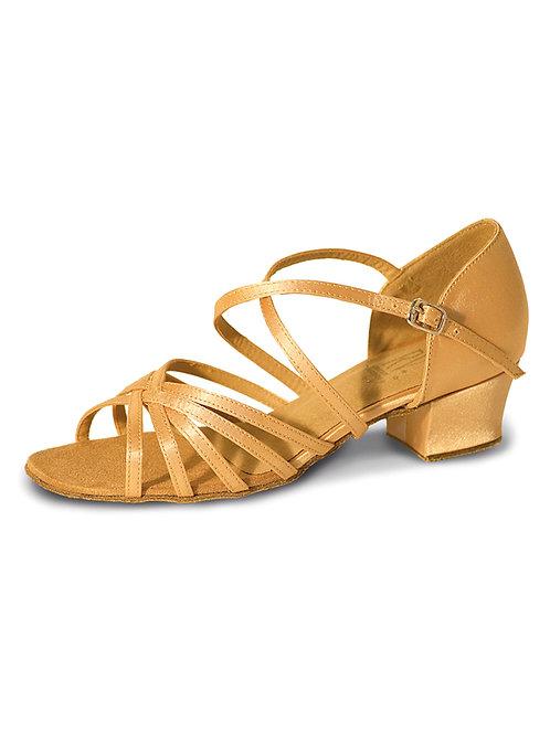 RV Bella strappy girls ballroom shoe 4 colours