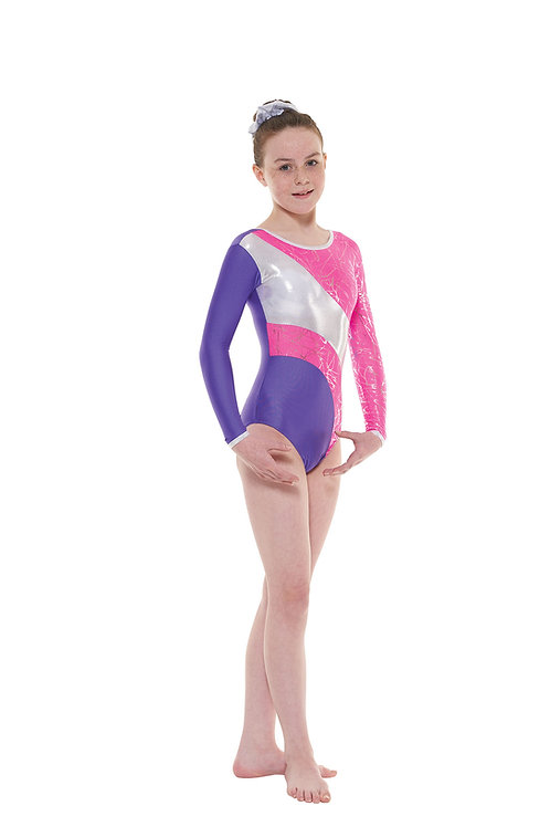 T & P gym 38 long sleeve gymnastic leotard