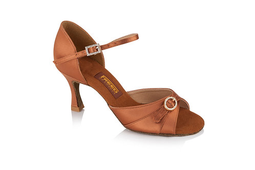 Freed Leona latin shoe with adjustable vamp