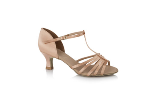 "Freed Tina Junior ballroom/latin shoe 2"" heel flesh colour"