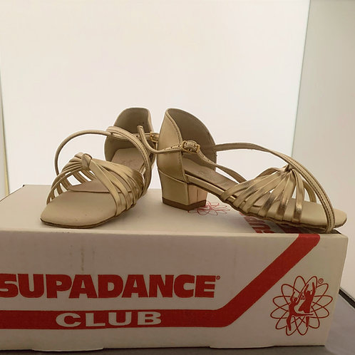 Supadance 1466 gold child dance size 10
