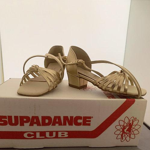 Supadance 1466 gold child dance size 10