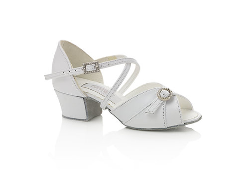 Freed of London Lyla white leather dance shoe
