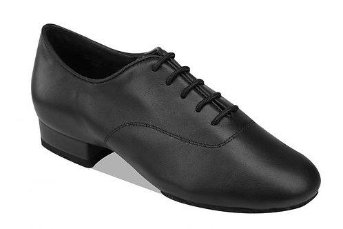 Supadance  boys latin dance shoe black nubuck size 3
