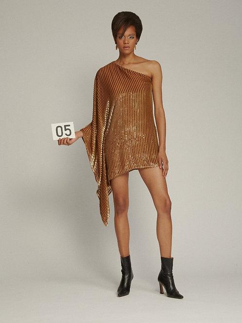 Bo Bardi Gold Dress