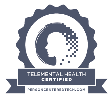 Certification for Telemental health and Telehealth Therapist Award