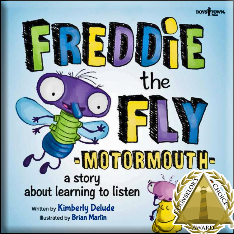 Freddie the Fly Therapy book series Counselors Choice Award winner