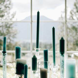 Montana-Wedding-Venue-Aqua-Candlesticks.