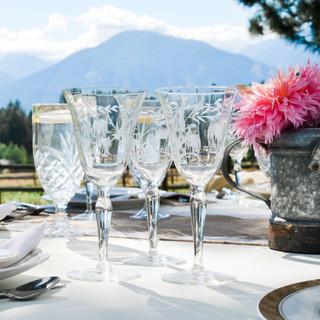 Montana-Wedding-Venue-Crystal-Stemware-B