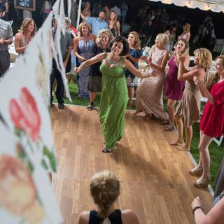 Montana-Wedding-Planner-Green-Dress-Gues