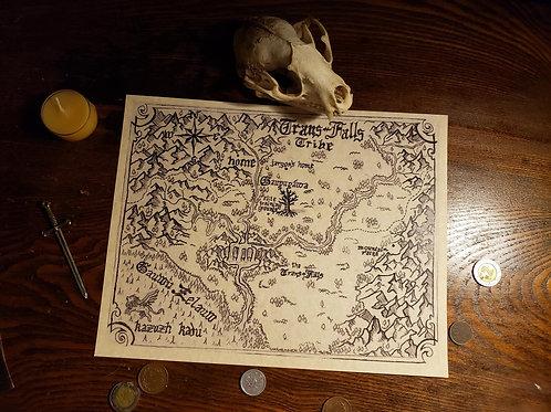 Art & Map prints