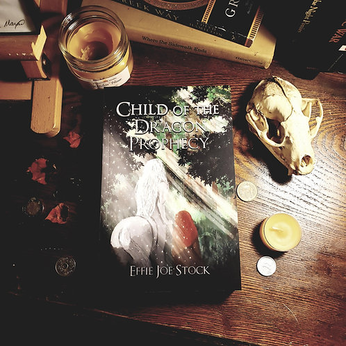 Signed Paperback + Art/Map Prints: Child of the Dragon Prophecy