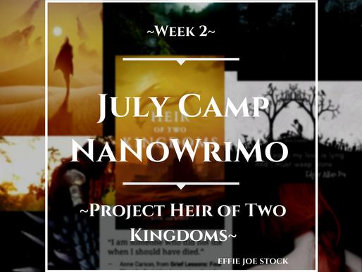 NaNoWriMo 2021 Update Week 2