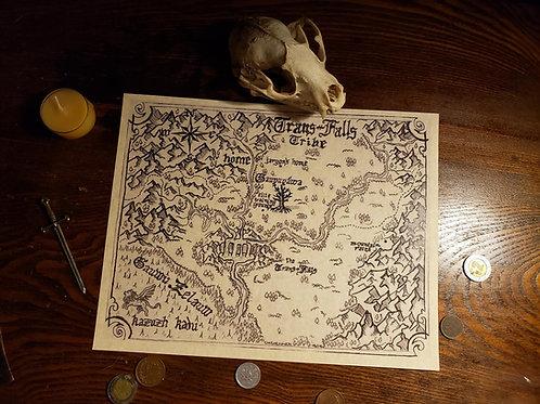 Fantasy Cartography Service (final step)