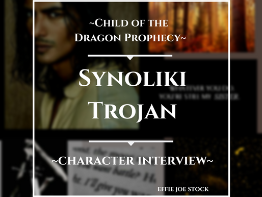 Synoliki Trojan of the Trans-Falls Tribe—Character Interview—Child of the Dragon Prophecy