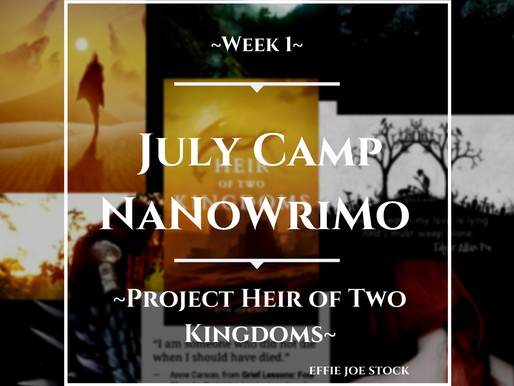 Camp NaNoWriMo (July 2021) Project and Goals