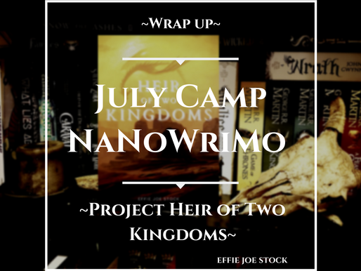 I Finished Camp NaNoWriMo!