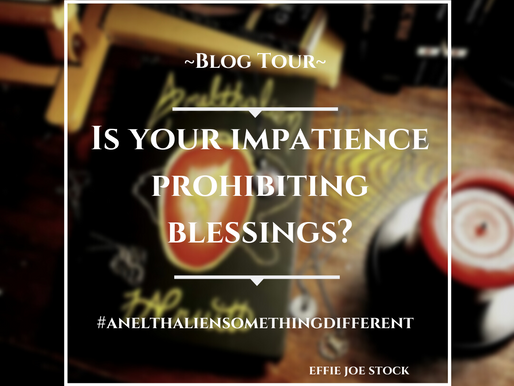 Is Your Impatience Prohibiting Blessings? (Anelthalien Something Different Blog Tour)
