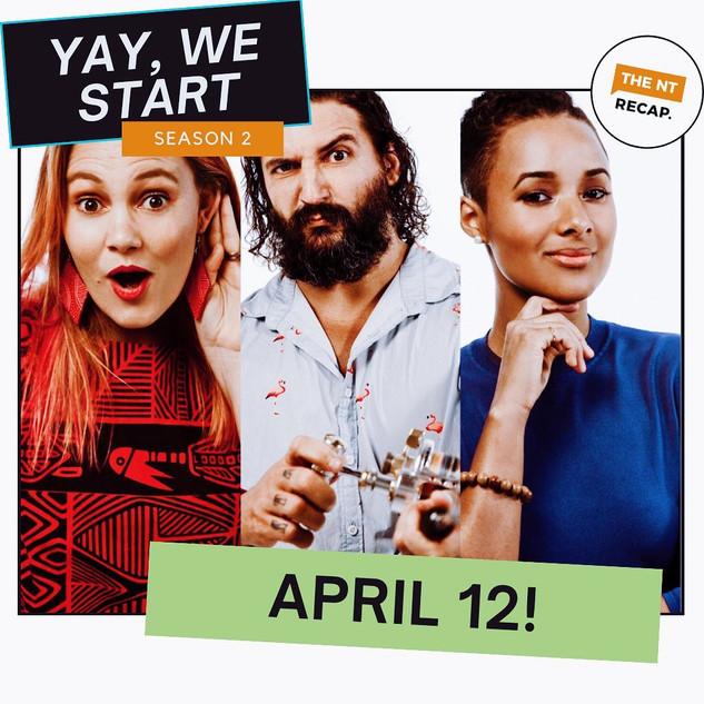 Season 2 kicks off April 12