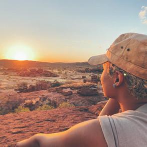 Sophia's drive to Alice Springs