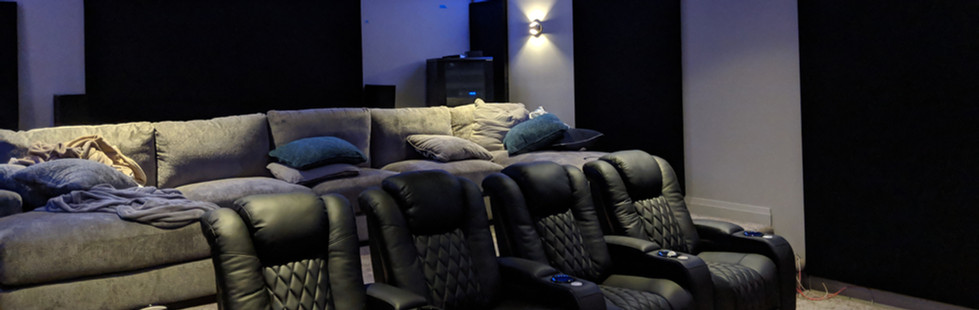 Custom Theatre Room