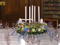 Tischdekoration Zunfthaus