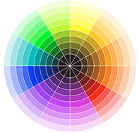 ACCENTED NEUTRAL Several Neutral Colors Plus One Hue From The Color Wheel As Anaccent Example Brown Beige Black White And Blue