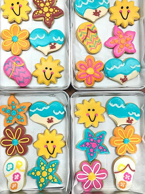 One Dozen Assorted Sugar Cookies