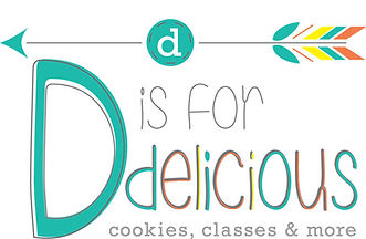 D is for Delicious Logo