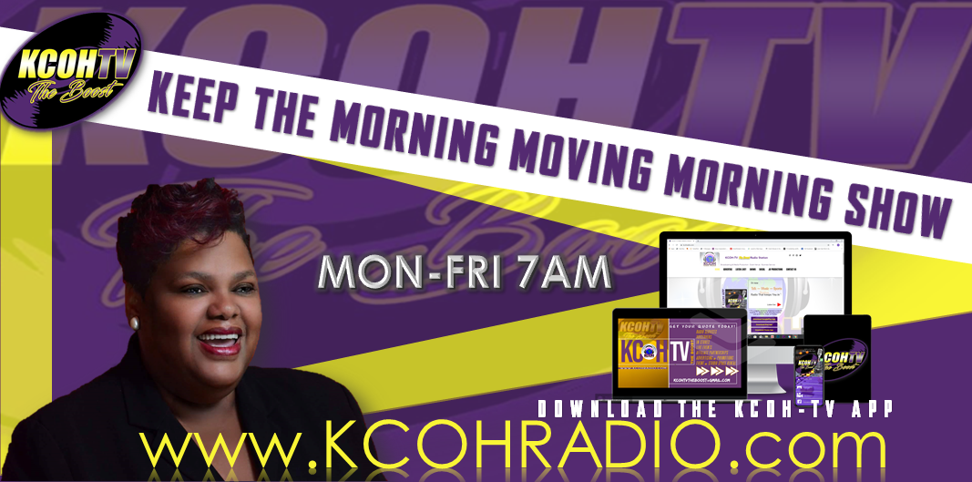 TUNE-IN to The Keep the Morning Moving Morning Show