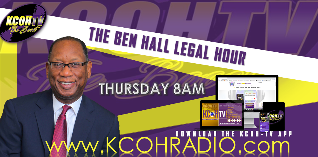 Tune-in to The Ben Hall Legal Hour