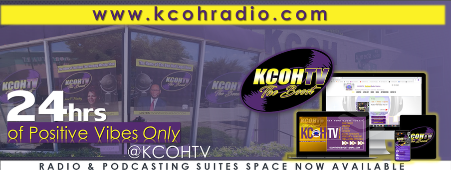 24HRS of Positive Vibes Only at KCOH-TV The Boost
