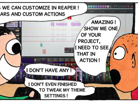 Tweaking Reaper