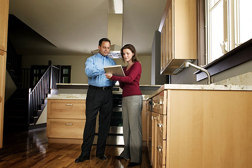 Meet and open property for appraisers, inspectors, or contractors