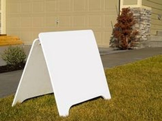 Open house sign placement and removal